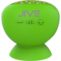 Digital Treasures Lyrix JIVE - Water Resistant Bluetooth Speaker - Lime