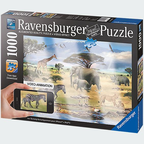 Ravensburger Augmented Reality Puzzle: Animals of Africa