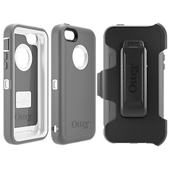 OtterBox® Defender Case for Apple iPhone 5c - White
