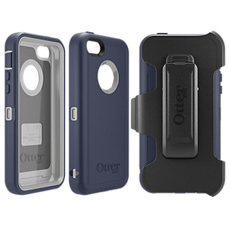 OtterBox Defender Case for Apple iPhone 5c - Navy/Gray