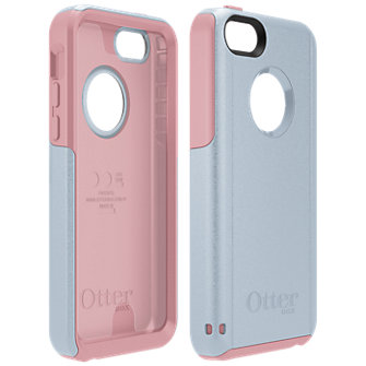 OtterBox Commuter for Apple iPhone 5c - Pink/Gray
