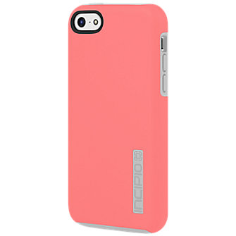Incipio DualPro™ Case for Apple iPhone5c - Pink with Gray