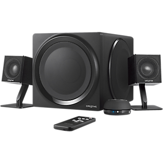 Creative Labs T4 Bluetooth Wireless 2.1 Speaker System - Black