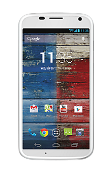 Moto X in White by Motorola