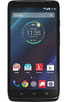 Motorola DROID Turbo 64GB in Black Ballistic Nylon