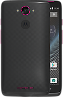DROID TURBO by Motorola in Gray Ballistic Nylon with Metallic Violet Accents