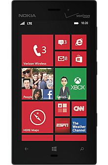 Veizon Wireless Nokia Lumia 928 Black