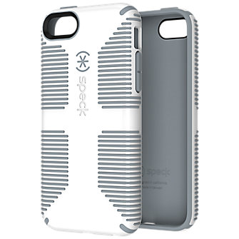 Speck CandyShell Grip Case for Apple iPhone 5c - White with Gray