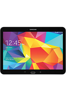 Samsung Galaxy Tab® 4 (10.1) in Pure Black
