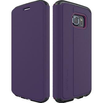 Evo Frame Wallet for Samsung Galaxy S 6 Edge - Purple