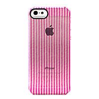 Uncommon Clear Deflector for Apple iPhone5/5s - Seer Sucker Pink
