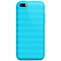 High Gloss Silicone Cover for Apple iPhone 5c - Blue