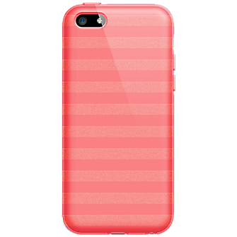High Gloss Silicone Cover for Apple iPhone5c - Pink