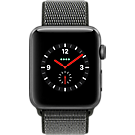 Reloj Apple® Watch Series 3 con  caja de aluminio de 42 mm y correa deportiva