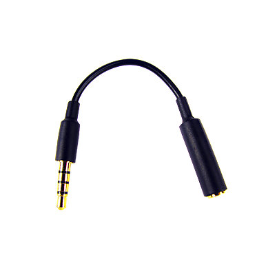 2.5mm Adapter - Converts Any 2.5mm connector to 3.5mm (Female 2.5 to male 3.5)