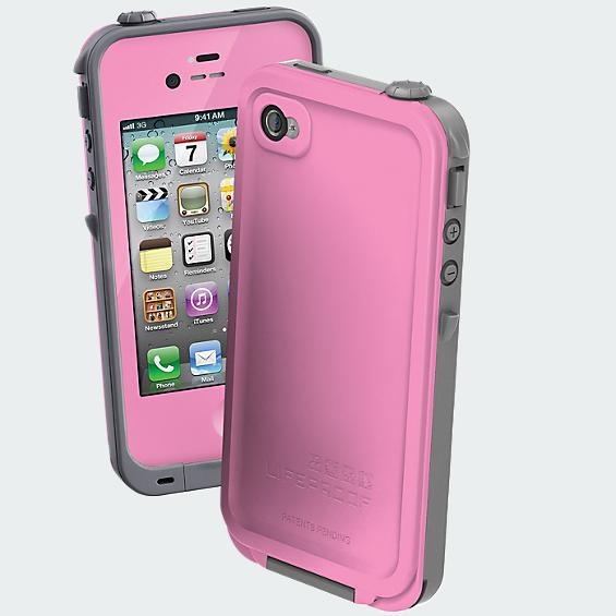 LifeProof Waterproof Case - iPhone 4/4s - Pink