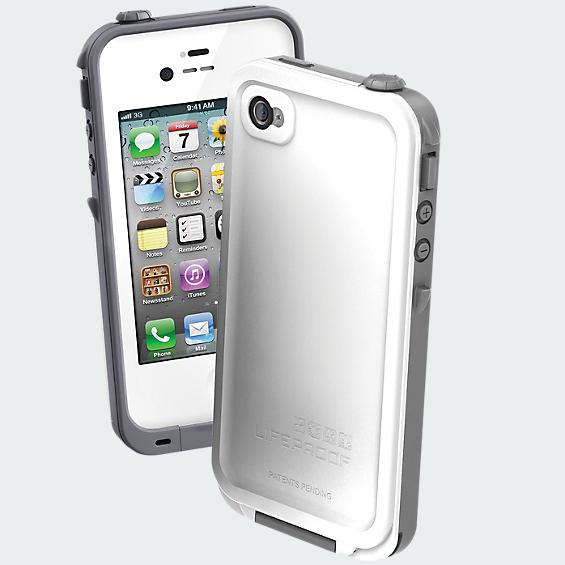 LifeProof Waterproof Case - iPhone 4/4s - White