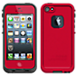 LIFEPROOF  Waterproof Case - iPhone 5 - Red