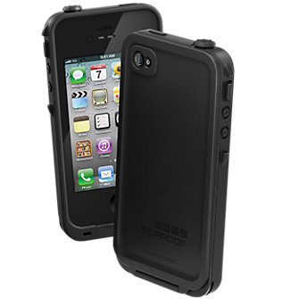 LifeProof Waterproof Case - iPhone 4/4s - Black