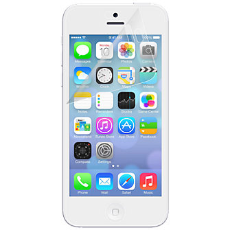 Anti-Scratch Display Protectors (3 Pack) w/ Screen Wipe for Apple iPhone 5c