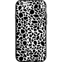 Milk and Honey Black and White Pebble Case for iPhone 6