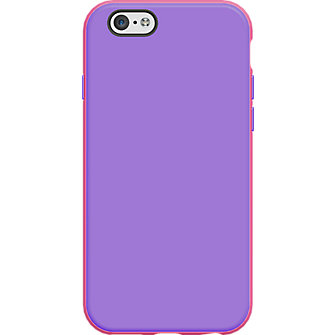 Two Tone Case for iPhone 6 - Pink/Purple