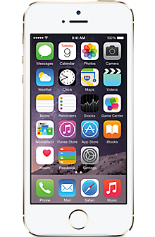 Apple® iPhone® 5s 32GB in Gold