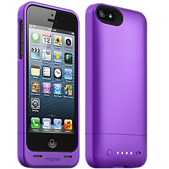 mophie juice pack helium for iPhone 5/5s - Purple