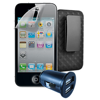 Travel Bundle for Apple iPhone 4s
