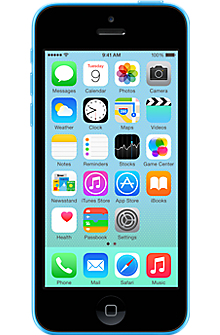 Apple iPhone 5c 32GB in Blue