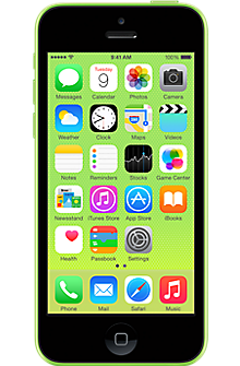 Apple iPhone 5c 32GB in Green