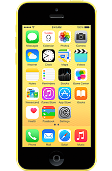 Apple iPhone 5c 32GB in Yellow