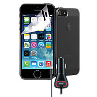 Travel Bundle for Apple iPhone 5s - Black