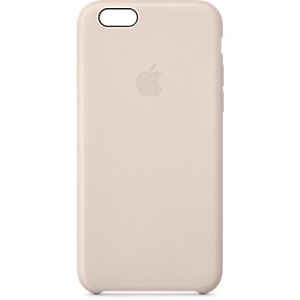 Apple iPhone 6 Leather Case - Soft Pink
