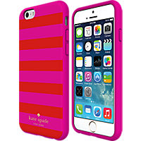 kate spade new york Flexible Hardshell Case for iPhone 6 Plus - Candy Stripe