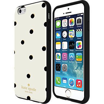 kate spade new york Flexible Hardshell Case for iPhone 6 Plus - Scattered Pavillion