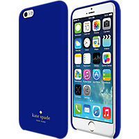 kate spade new york Wrapped Case for iPhone 6 Plus - Emperor Blue Leather