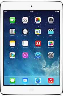 Apple iPad mini 16GB in White  Silver