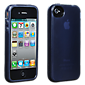 iPhone 4/4S Belkin High Gloss Silicone Cover - Black