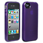 iPhone 4/4S Belkin High Gloss Silicone Cover - Purple