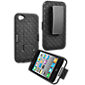 iPhone 4/4S Holster/Cover with Kickstand
