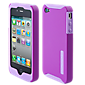 iPhone 4/4S Incipio Double Covers - Silicone and Hard Cover - Purple
