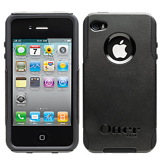 OtterBox Commuter Rugged Protective Cover - Black