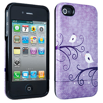iPhone 4/4s Broodi Hard Cover - Purple