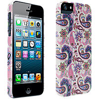 Paisley Print Hard Cover for iPhone 5/5s