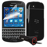 Travel Bundle for BlackBerry Q10 smartphone