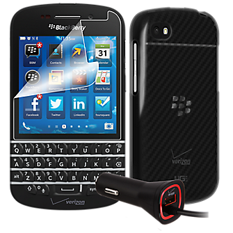 Travel Bundle for BlackBerry Q10 smartphone