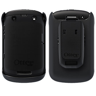 OtterBox Defender Series Rugged Case for BlackBerry Curve 9370 - Black