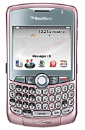 BlackBerry Curve 8330 smartphone in Pink Support