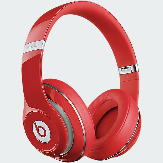 Discount Electronics On Sale Beats Studio Over-Ear Headphone - Red